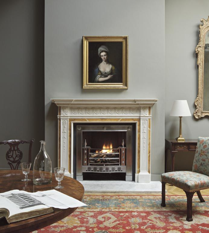 Clarendon Neoclassical Fireplace