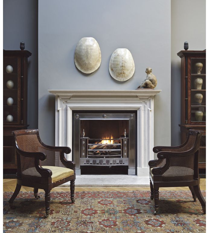 reproduction marble fireplace