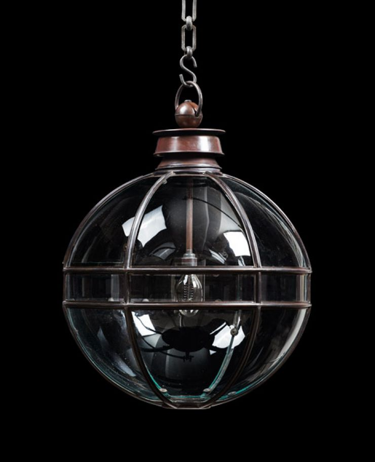Mercury Globe Hanging Lantern