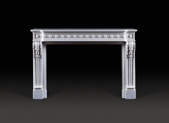 Antoinette Marble Fireplace