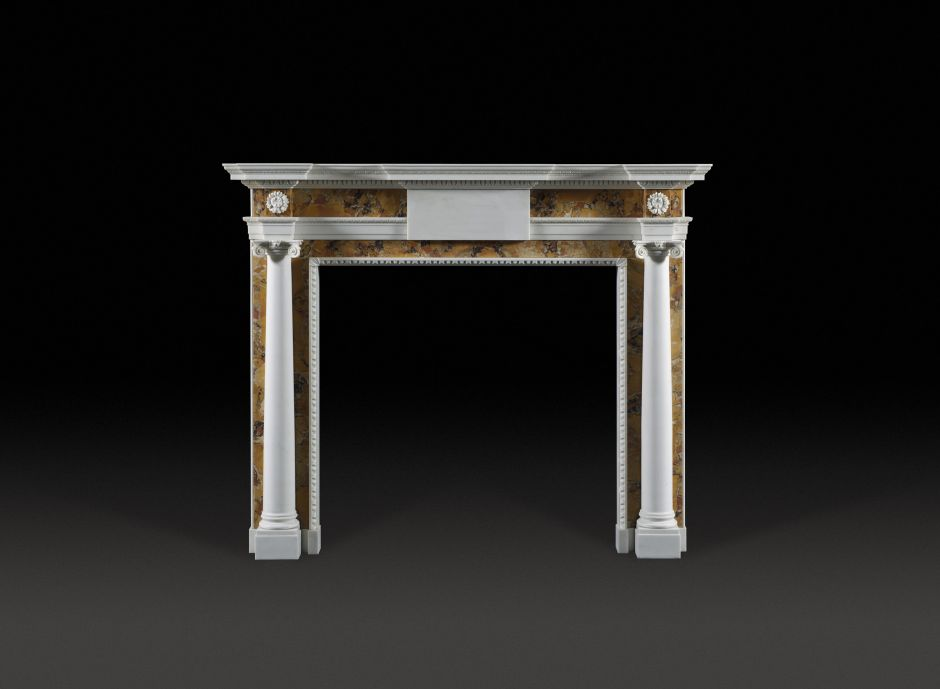 Derrymore Marble Fireplace