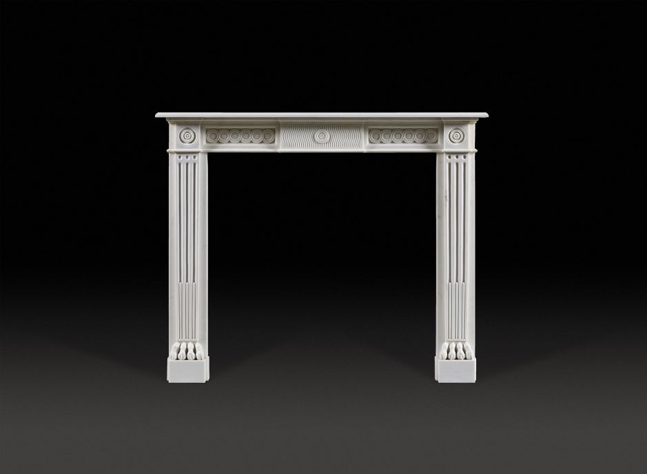 Dumont Marble Fireplace