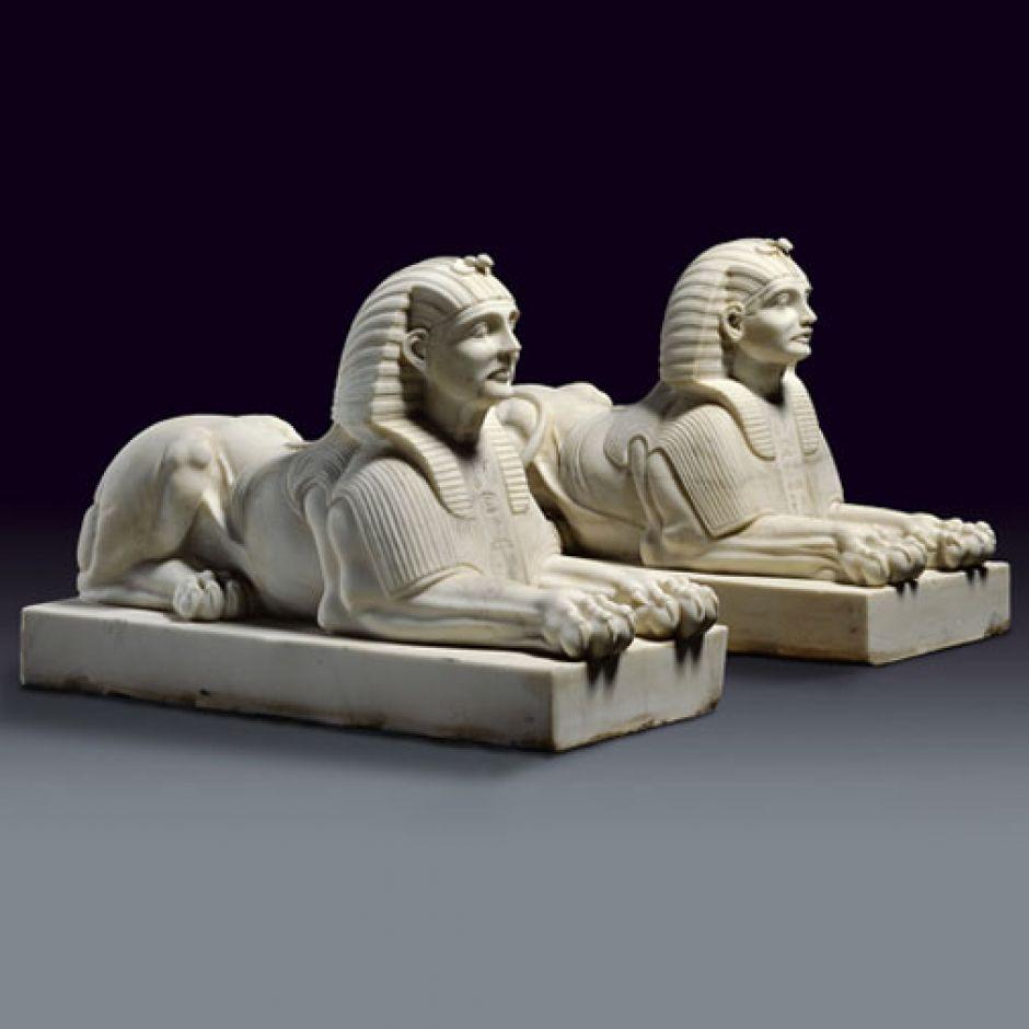 Pair of Sphinxes