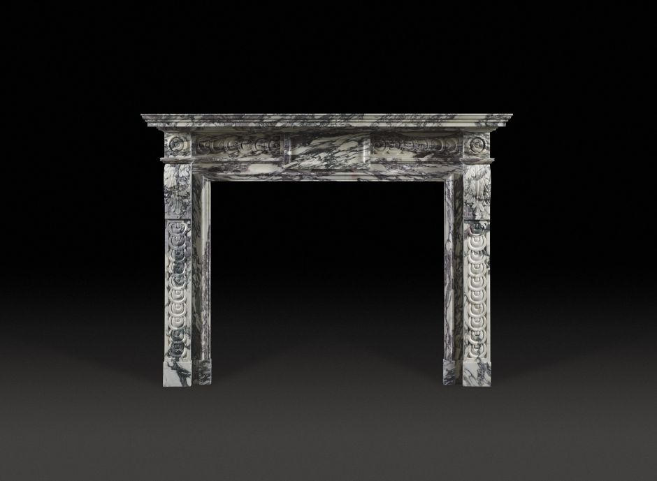 Garendon Stone Fireplace