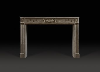 Gramont Stone Fireplace