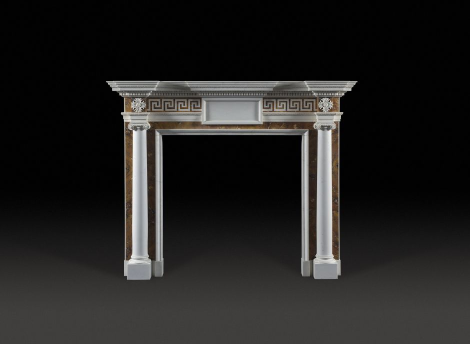 Kentmere Marble Fireplace