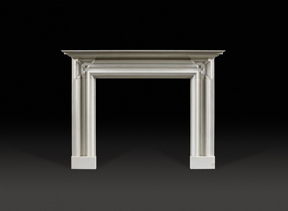 Lincoln Marble Fireplace