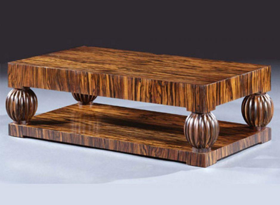 Macasa Wood Coffee Table