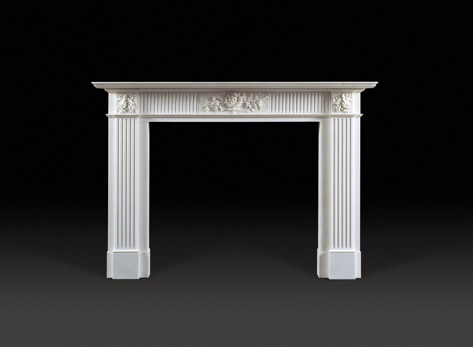 Montague Marble Fireplace