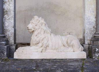 Couchant Lion, West