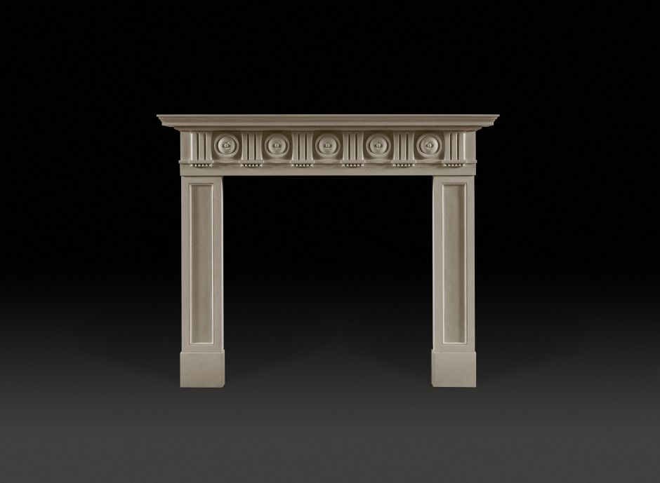 Bellmore Stone Fireplace