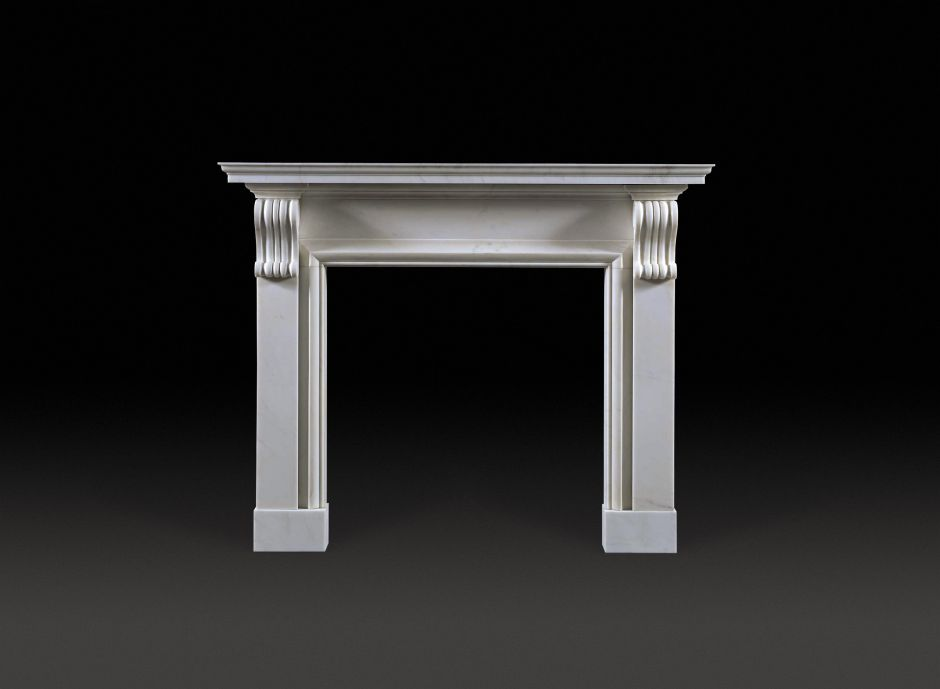 Burlington Marble Fireplace
