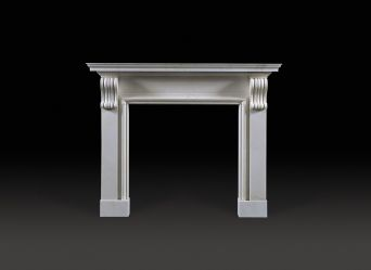 Burlington Marble Fireplace
