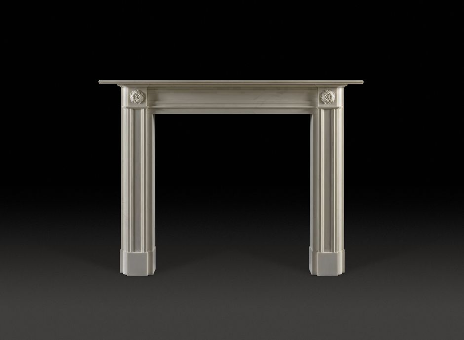 Clarence Marble Fireplace
