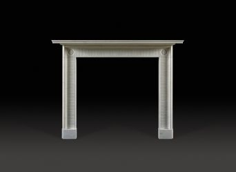 Compton Marble Fireplace