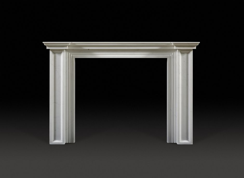 Holwood Marble Fireplace
