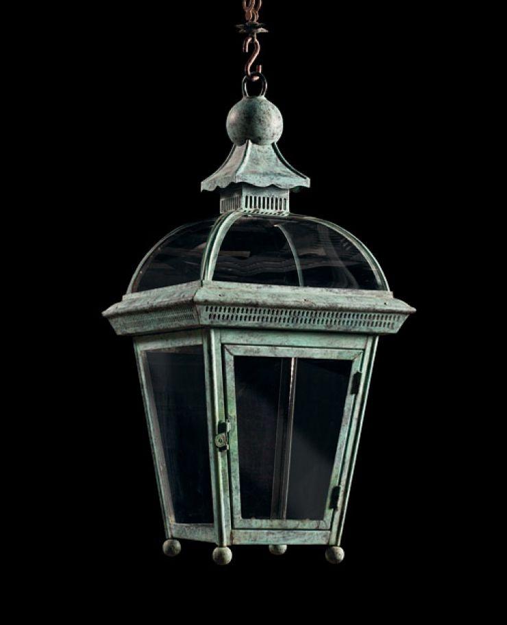 Dome Topped Hanging Lantern