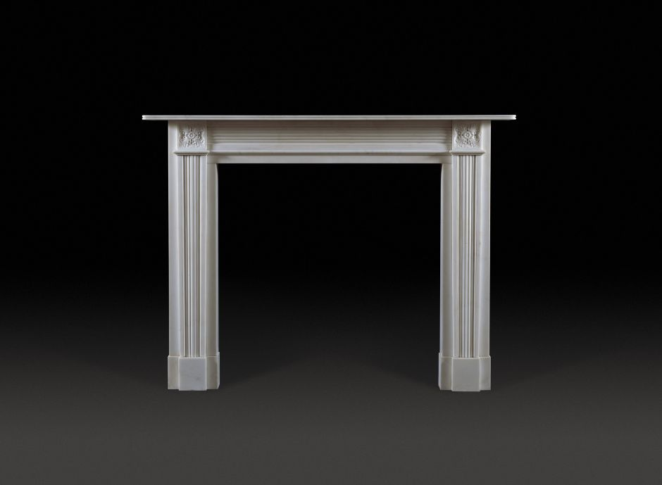 Pelham Marble Fireplace