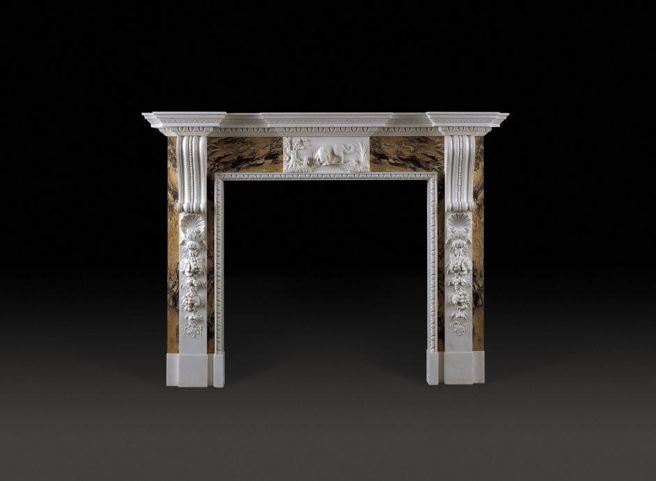Russborough Marble Fireplace