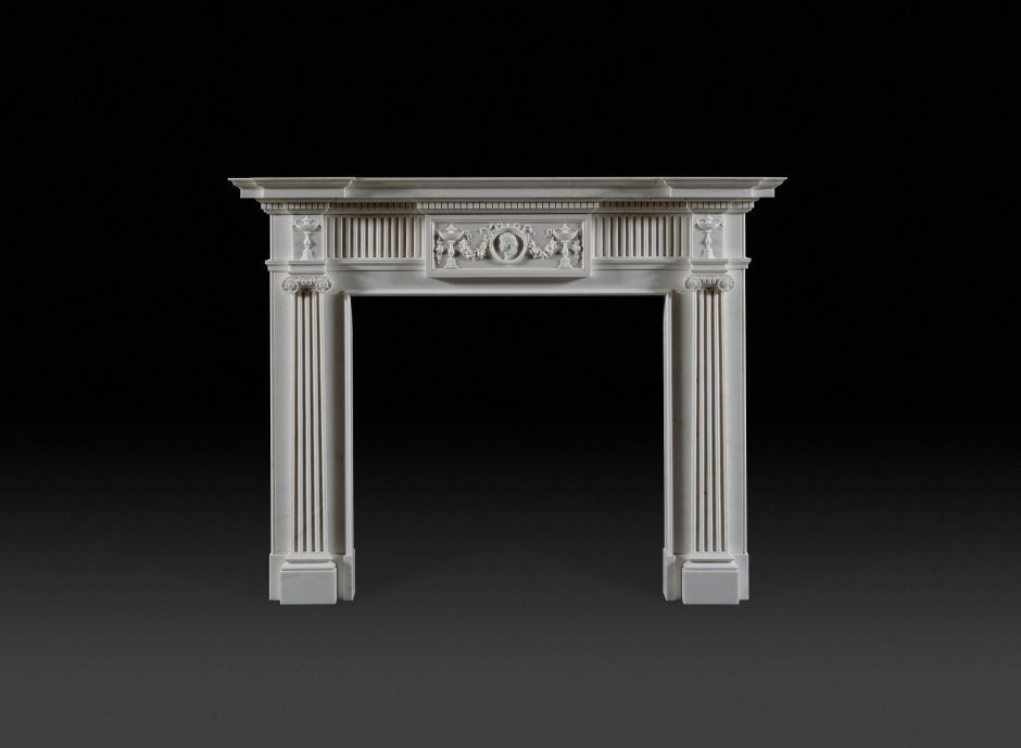Seymour Marble Fireplace