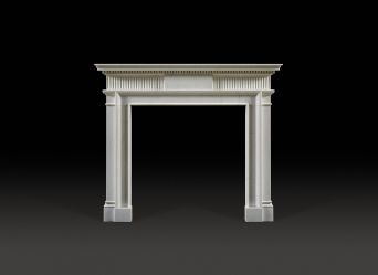 Somerset Marble Fireplace